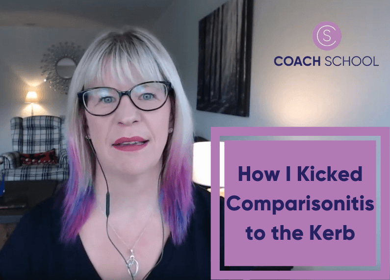 How I Kicked Comparisonitis to the Kerb